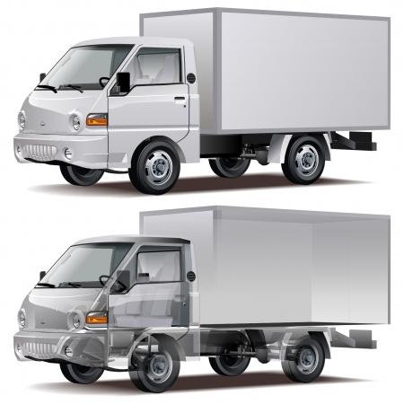 Vector delivery / cargo truck Stock Vector - 7212783