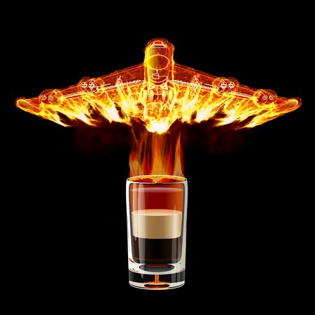 aircraft bomber: B-52 Shot cocktail