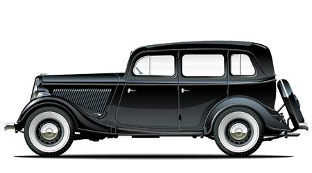 vintage car Stock Vector - 8315509