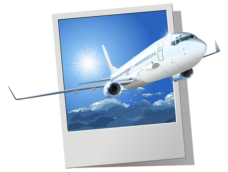 Vector airliner Stock Vector - 8667067