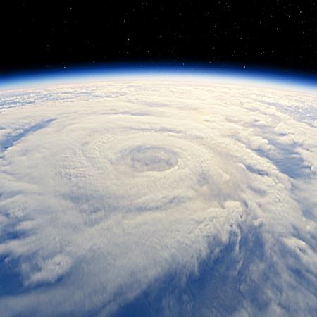 hurricanes: cyclone Stock Photo
