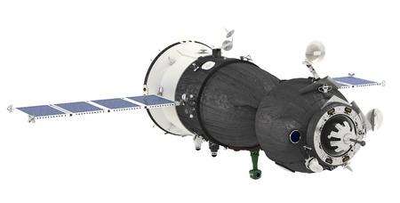 satelite: Spaceship Soyuz