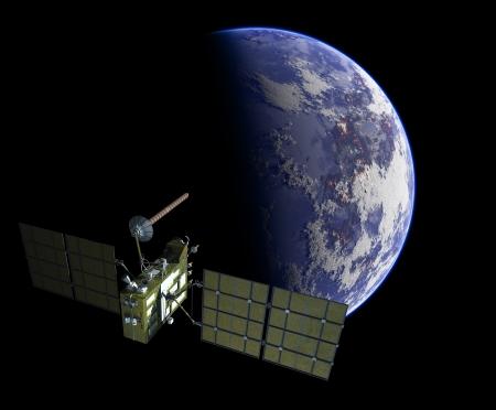 Navigation satellite