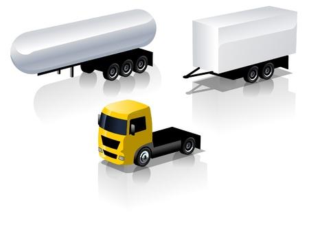 vrachtwagen pictogrammen instellen