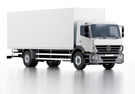 Kommerzielle Lieferung / Cargo Truck Standard-Bild - 16565407