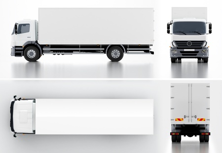 trailer truck: Delivery   Cargo Truck