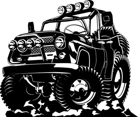 Cartoon car Stock Vector - 18594943