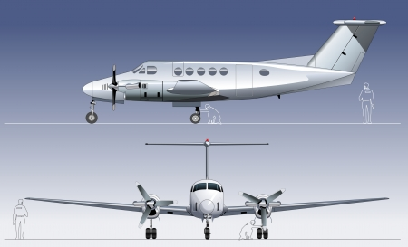 Civil utility aircraft  Available separated by groups and layers for easy edit