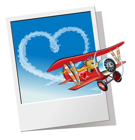 Valentines Card  illustration  Vector