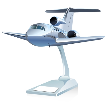 airplan: Cartoon Airliner model toy