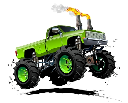 Large Truck Stock Vector Illustration And Royalty Free Large Truck ...