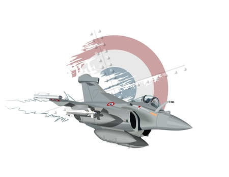 fighter plane: Vector Cartoon Fighter Plane. Available EPS-10 vector format separated by groups and layers for easy edit Illustration