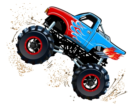 355 Monster Truck Cliparts, Stock Vector And Royalty Free Monster ...