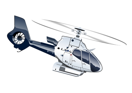 helicopter rescue: Vector Cartoon Helicopter. Available EPS-10 separated by groups and layers with transparency effects for one-click repaint
