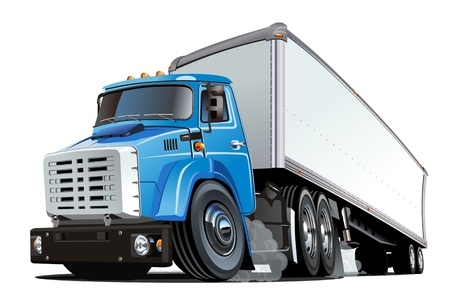 4,824 Semi Trailer Stock Illustrations, Cliparts And Royalty Free ...