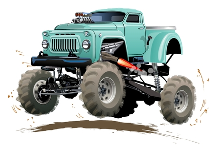 Monster truck icon.