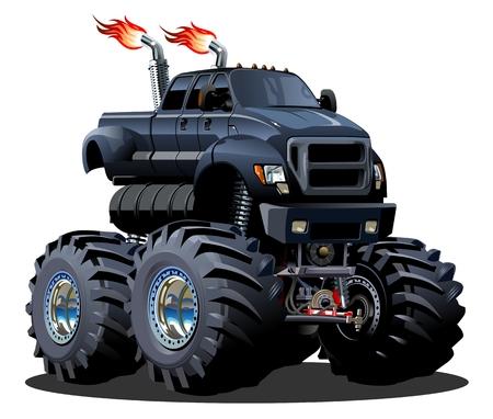 Cartoon Monster Truck.