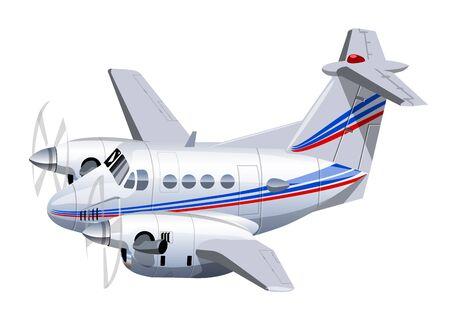 Cartoon utility aircraft