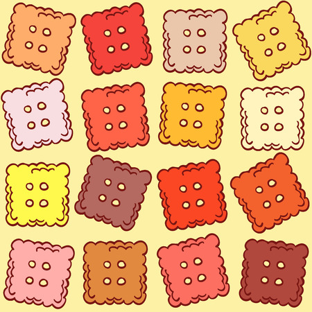 shortbread: Vector illustration in the pastry category for your desing
