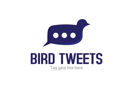버드 트윗 로고