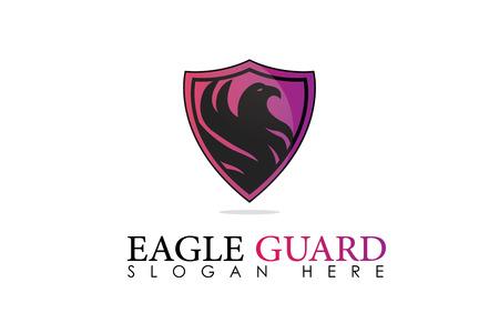 Eagle guard logo Stock fotó - 89178972