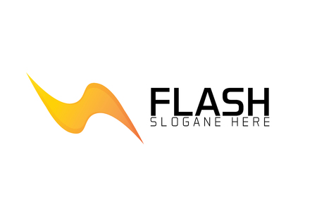 Flash logo Stock fotó - 90799478