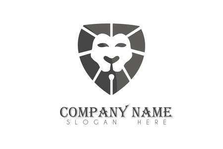 Lion shield logo Stock fotó - 110625073
