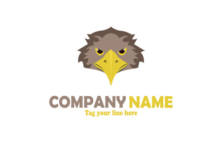 Eagle mascot logo Stock fotó - 110625083