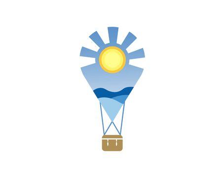 Travel logo Stock fotó - 133425220