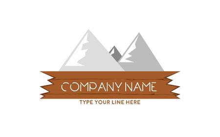 Mountains logo Stock fotó - 110625109