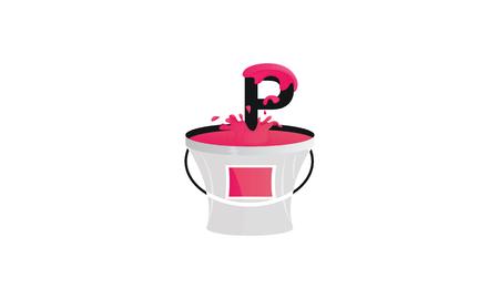 P paint logo