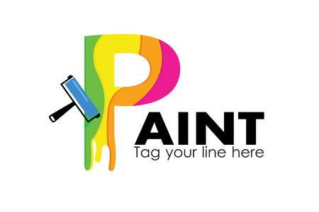 Paint logo Stock fotó - 110625114