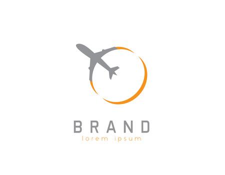 Plane agency logo Stock fotó - 110625139