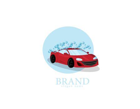 Red Car wash