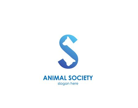 Animal Soceity concept - Letter S