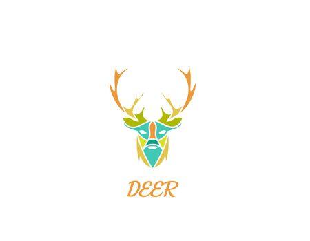 Deer Art logo - illustration