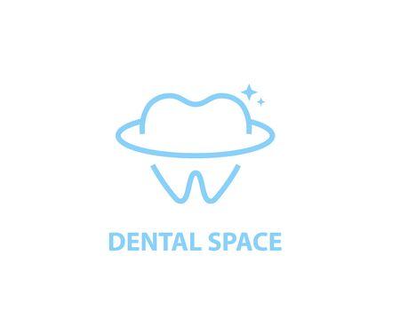 Dental space logo - illustration