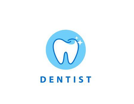 Dentist logo - illustration