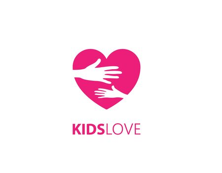 Kids love care logo