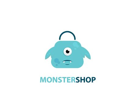 Monster shop logo