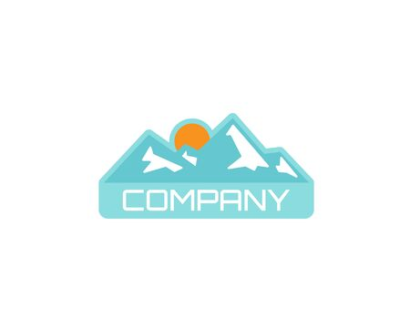 Camping outdoor adventure emblems logo