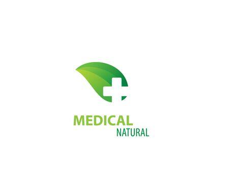 Herbal Medicine Medical design logo