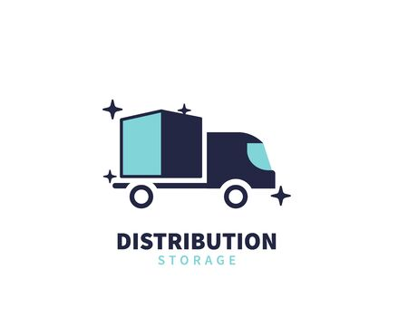 Delivery Distribution and storage logo
