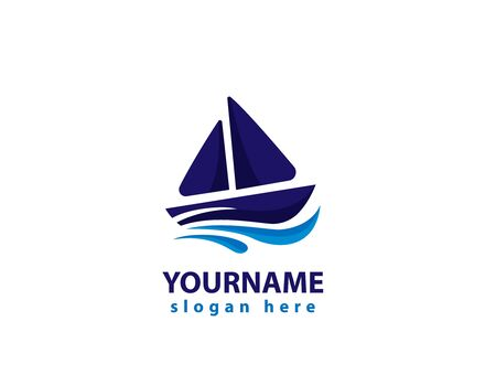 Yacht and boat logo design