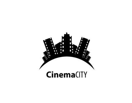 Cinema city logo design