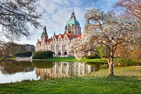 Neus Rathaus Hannover, The New Town  City Hall photo