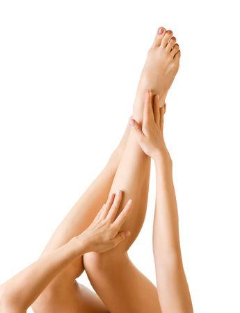 piernas de mujer sexy Foto de archivo