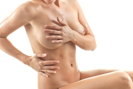Young beautiful naked woman Stock Photo - 10190181