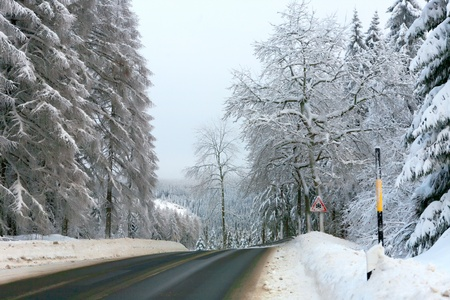 coldly: Winter in the german Harz
