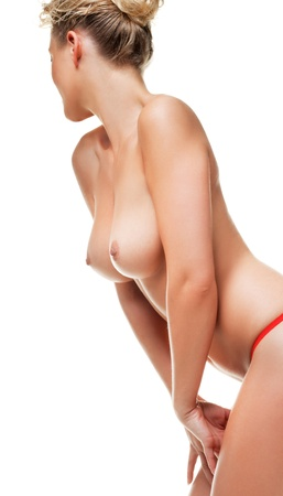 mujer desnuda: Joven bella mujer desnuda